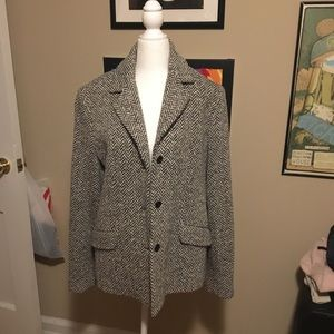 Vintage Neumann Marcus Oversized Blazer/Peacoat